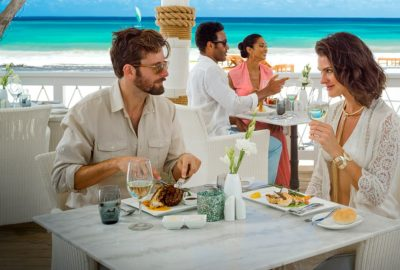 DIning at Sandals Resorts