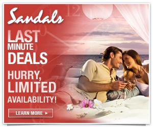 Sandals Last Minute Deals